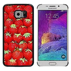 Dragon Case - FOR Samsung Galaxy S6 EDGE - Happy are the families - Caja protectora de pl??stico duro de la cubierta Dise?¡Ào Slim Fit