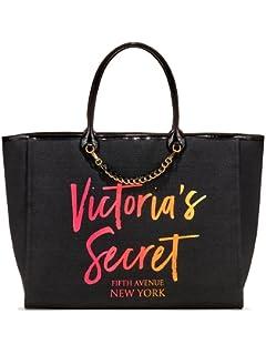 2c863e4195c11 Amazon.com: Victoria's Secret Angel City Tote Bag Black: Shoes