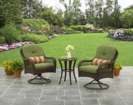 Image Unavailable - Amazon.com: 3-Piece Outdoor Furniture Set, Better Homes And Gardens