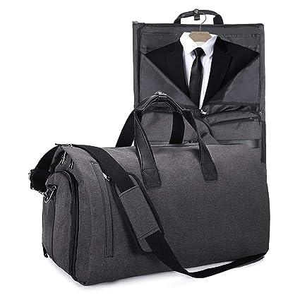 Basuwell - Bolsa de viaje para trajes, equipaje, ropa de ...
