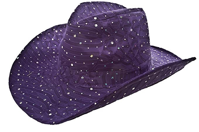 Sparkle Glitter Western   Purple   Red Hat Lady Society at Amazon ... 4a0df22e41c