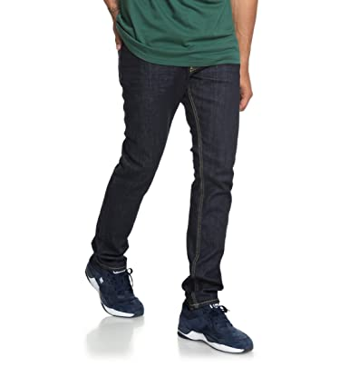 5585393a1c5 DC Shoes Worker Indigo Rinse - Slim Fit Jeans for Men EDYDP03384  DC ...