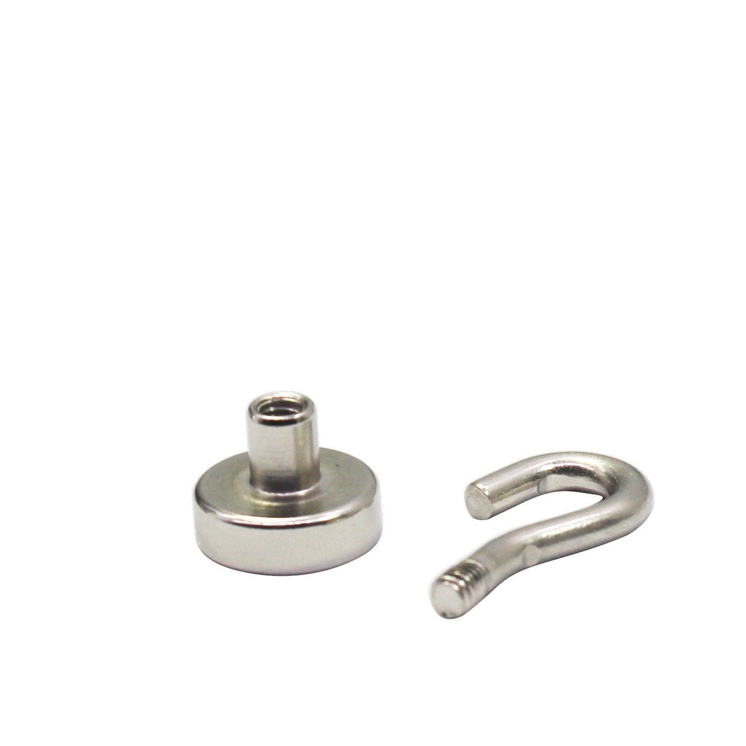 Strong Neodymium Heavy Duty Magnetic Hook 12 LBS 20 Pack For Kitchen, Office, Garage, Home, Workplace by HongsMarket (Image #5)