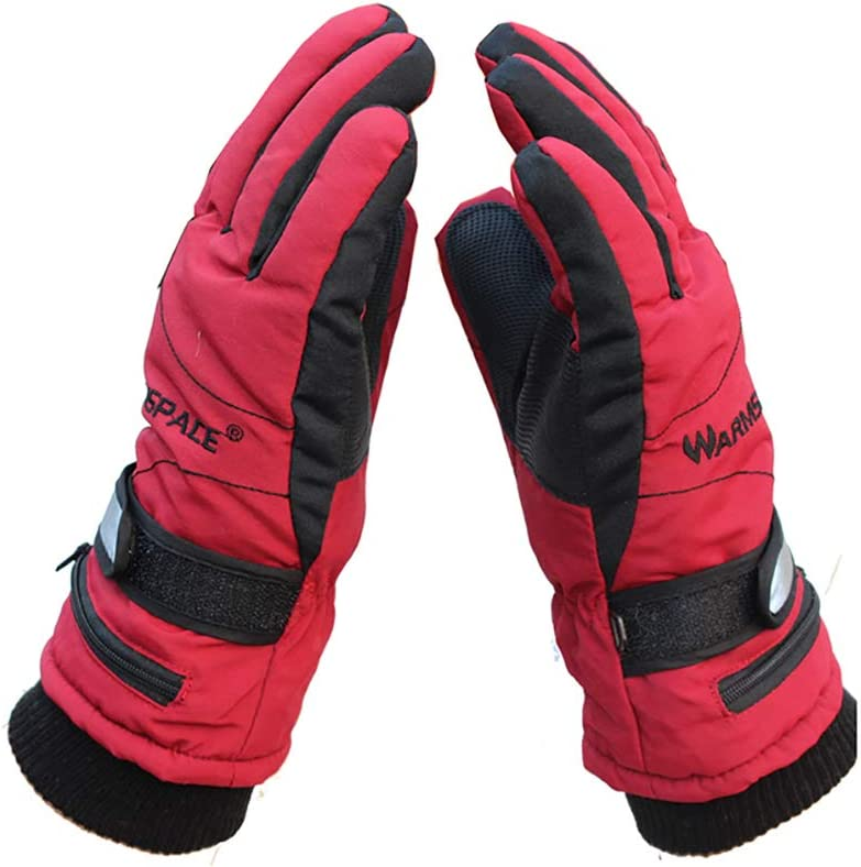 ZMEETY Outdoor Charging Heating Double-Sided Warm Cycling ski Gloves Smart Third Gear Winter