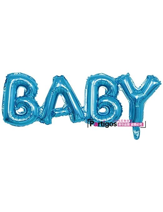 WSJQQ 6 Unids/Lote Mini Baby Boy/Girl Foil Balloon Baby ...