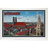"CafePress - Munich Cityscape Rectangle Magnet - Rectangle Magnet, 2""x3"" Refrigerator Magnet"
