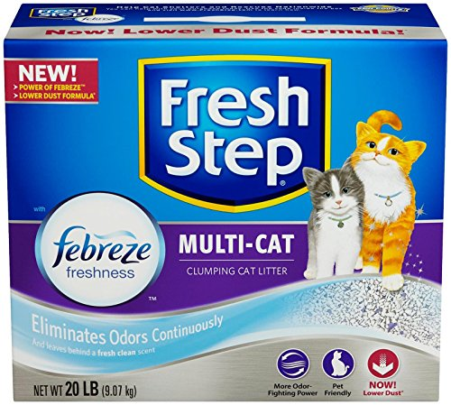 fresh-step-multi-cat-with-febreze-freshness-clumping-cat-litter-scented-20-pounds