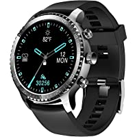 Tinwoo Smart Watch for Men, Support Wireless Charging, Bluetooth Fitness Tracker with Heart Rate Monitor, Smartwatch for…