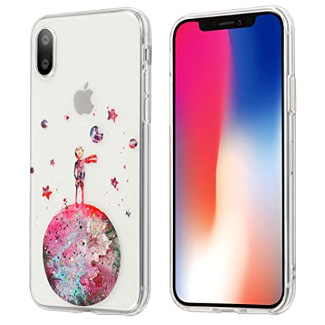 custodia iphone 8 trasparente con disegni