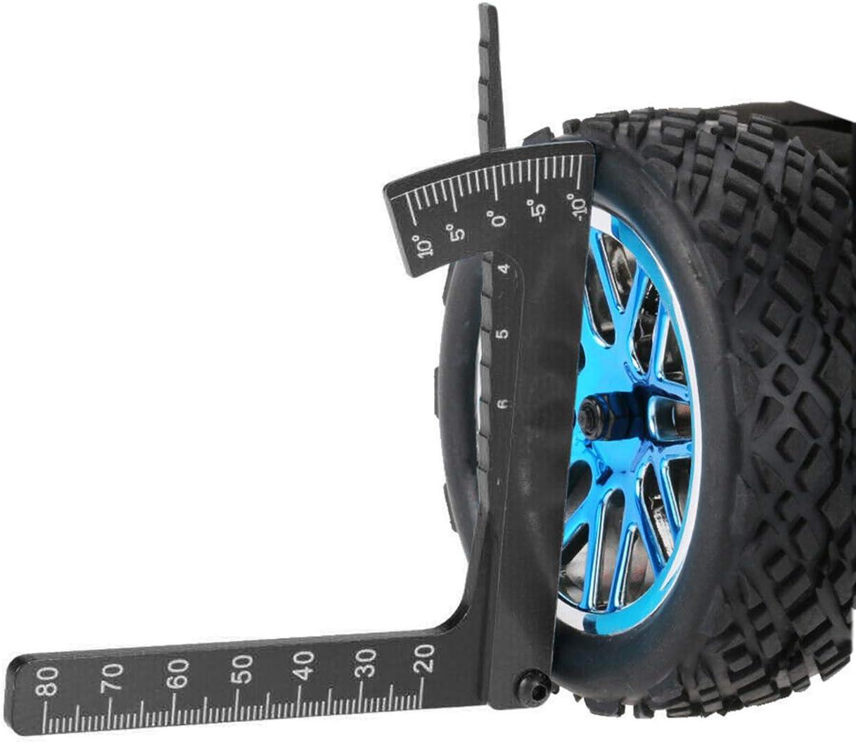 Adjustable Ruler RC Car Wheel Rim Camber Height Tires Angle Balance RuleNWUS