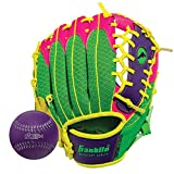 Franklin Sports Teeball Recreational Series Fielding Glove Baseball, 9.5-Inch