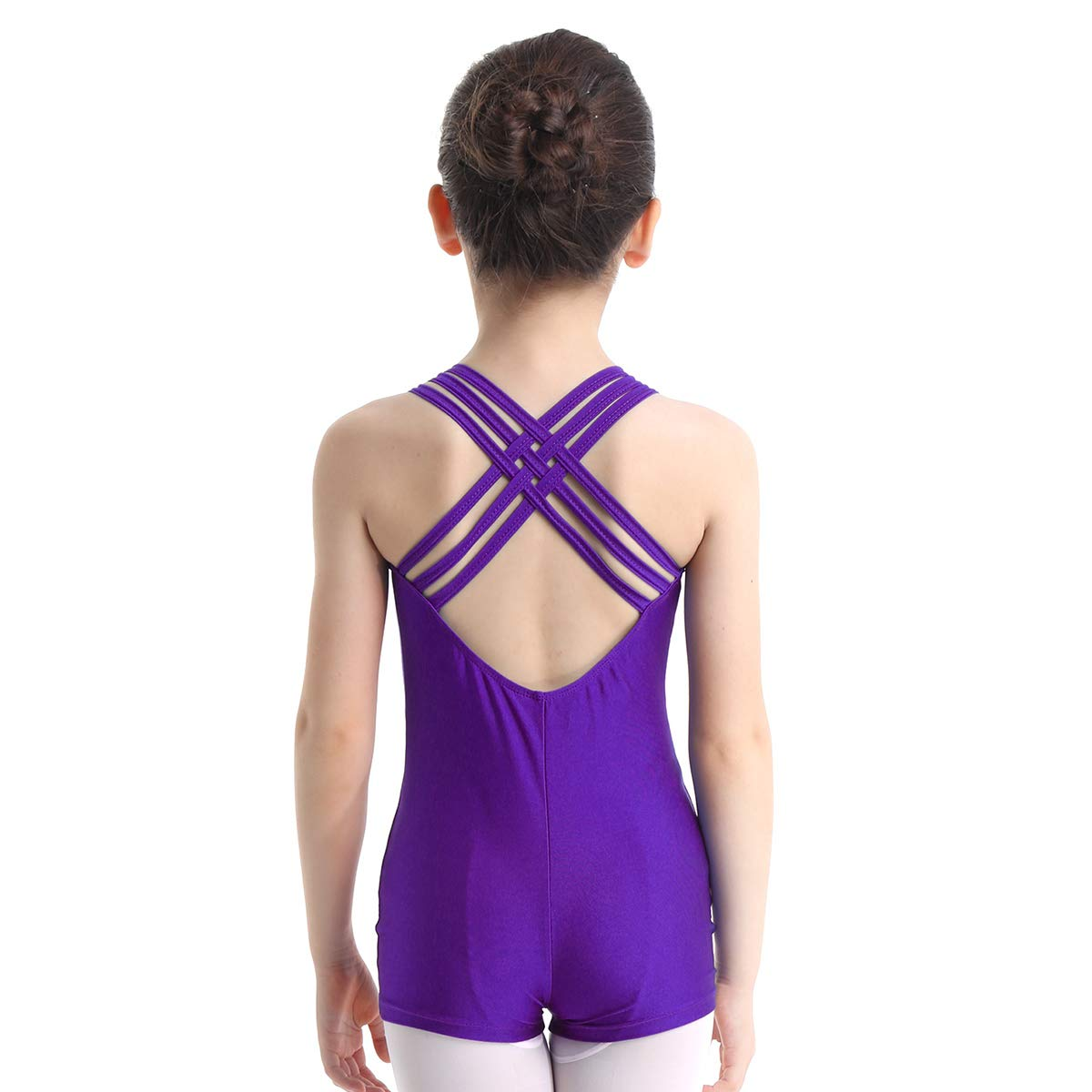 Sports & Outdoors winying Girls Spandex Strappy Criss ...