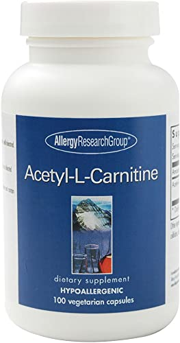 Allergy Research Group – Acetyl-L-Carnitine 500 mg 100 Capsules