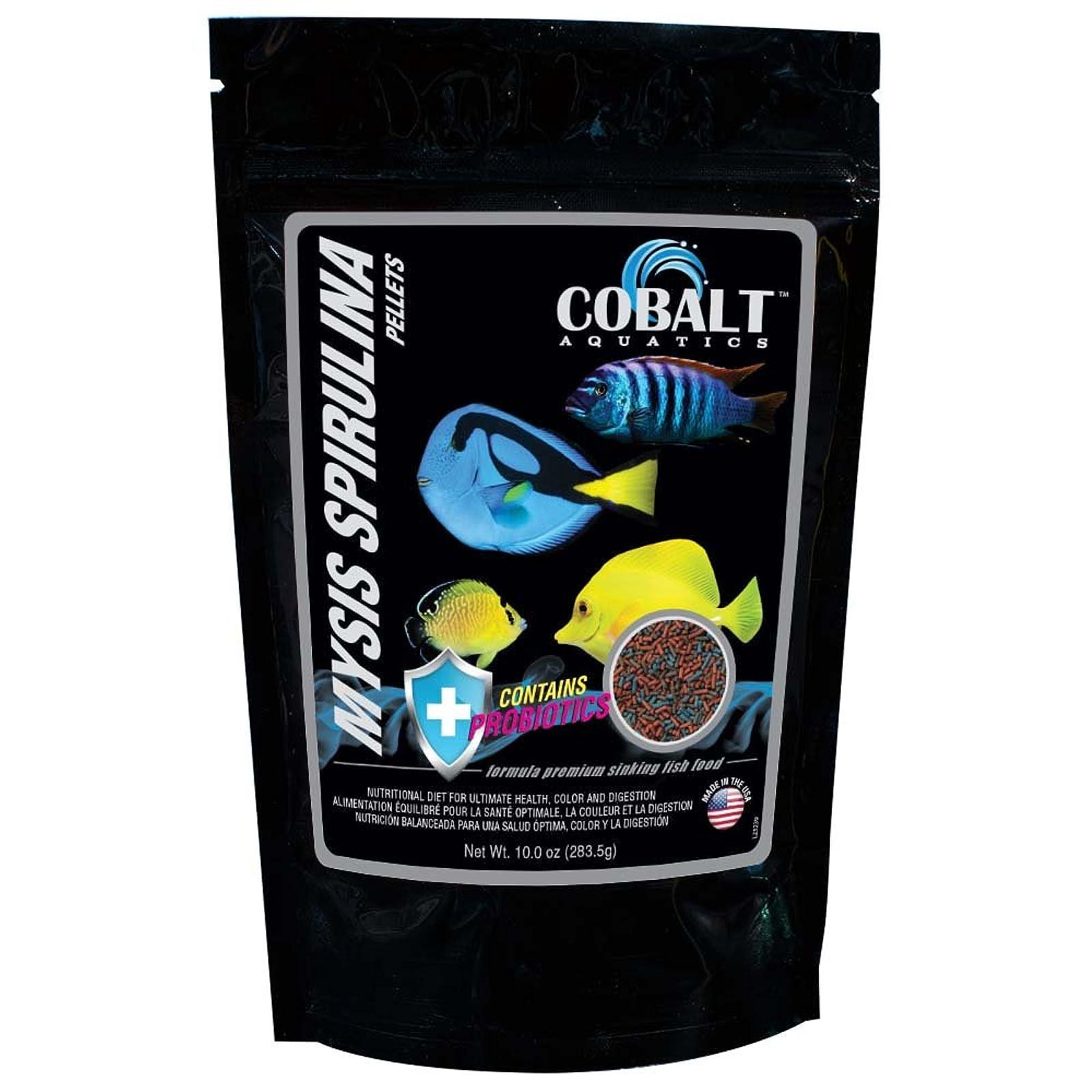 Cobalt Aquatics 10 oz Mysis Spirulina Pellet 23239 - 1