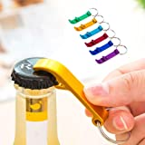 KANNERT Portable 4 in 1 Bottle Opener Key Ring Chain Keyring Keychain Metal Beer Bar Tool Claw Gift Free Shipping : Black
