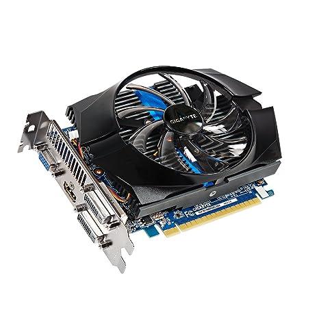 Gigabyte GT740 - Tarjeta gráfica (NVIDIA GeForce 740, 2 GB GDDR5, 2 x DVI, VGA)