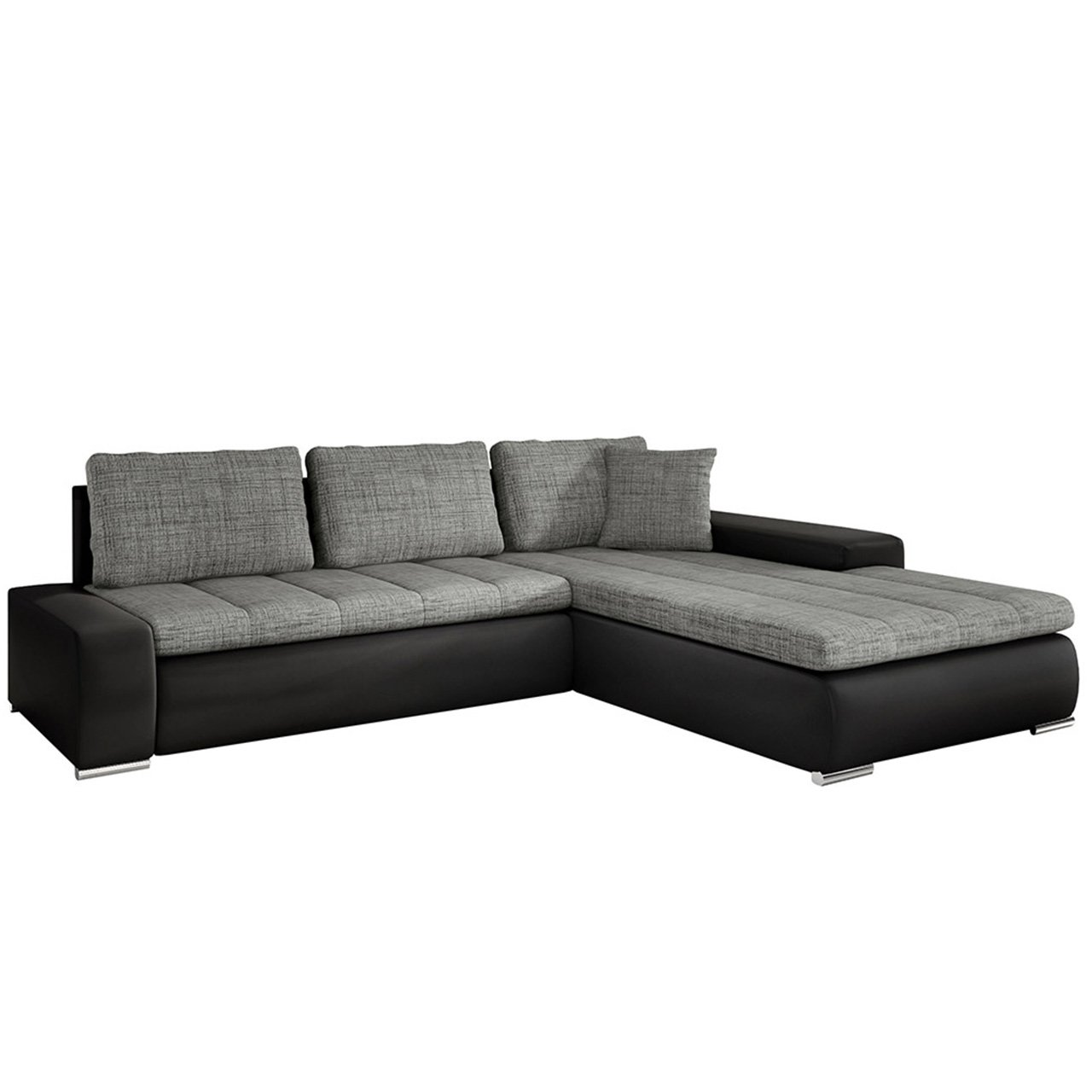 eckcouch ecksofa orkan loft elegante sofa mit schlaffunktion und bettfunktion bettkasten. Black Bedroom Furniture Sets. Home Design Ideas