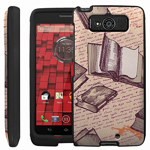[ManiaGear] Design Graphic Image Shell Cover Hard Case (Writing a Book) for Motorola DROID Mini XT1030