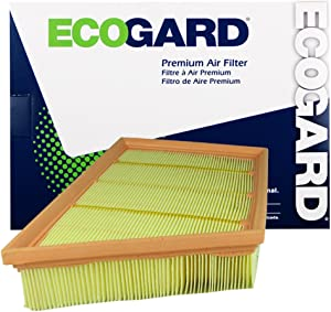 ECOGARD XA10184 Premium Engine Air Filter Fits Land Rover Range Rover Evoque 2.0L 2012-2017, Discovery Sport 2.0L 2015-2017, LR2 2.0L 2013-2015