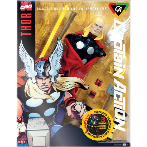 Captain Action CA Thor Deluxe Costume (Captain Action Costume Set)