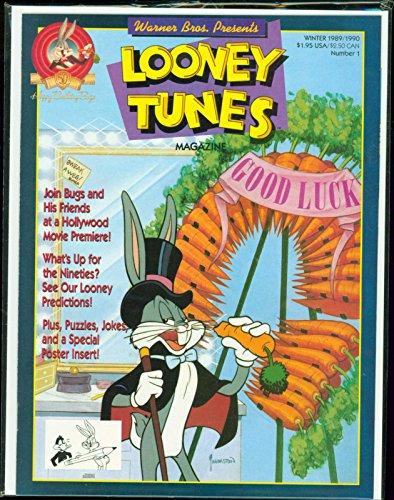 Looney Tunes Magazine #1 Bugs Bunny 1989 NM unread GBX
