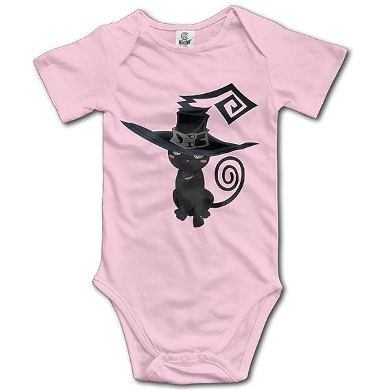 Unisex Blair el mágico gato bebé Pelele bebé mono corto slev: Amazon.es: Ropa y accesorios