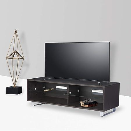 DILO - Soporte de Madera para televisor con 2 estantes Ajustables ...