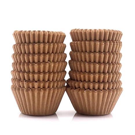 Amazon.com: Mini moldes para magdalenas, 300 unidades, tazas ...