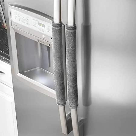 1 par de cubiertas para manilla de puerta de refrigerador, para ...