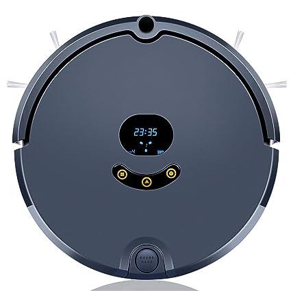 CCYOO Robot Aspirador Mojado Y Seco Limpieza Fregona Barredora con 2200MAH Batería De Litio Control Remoto