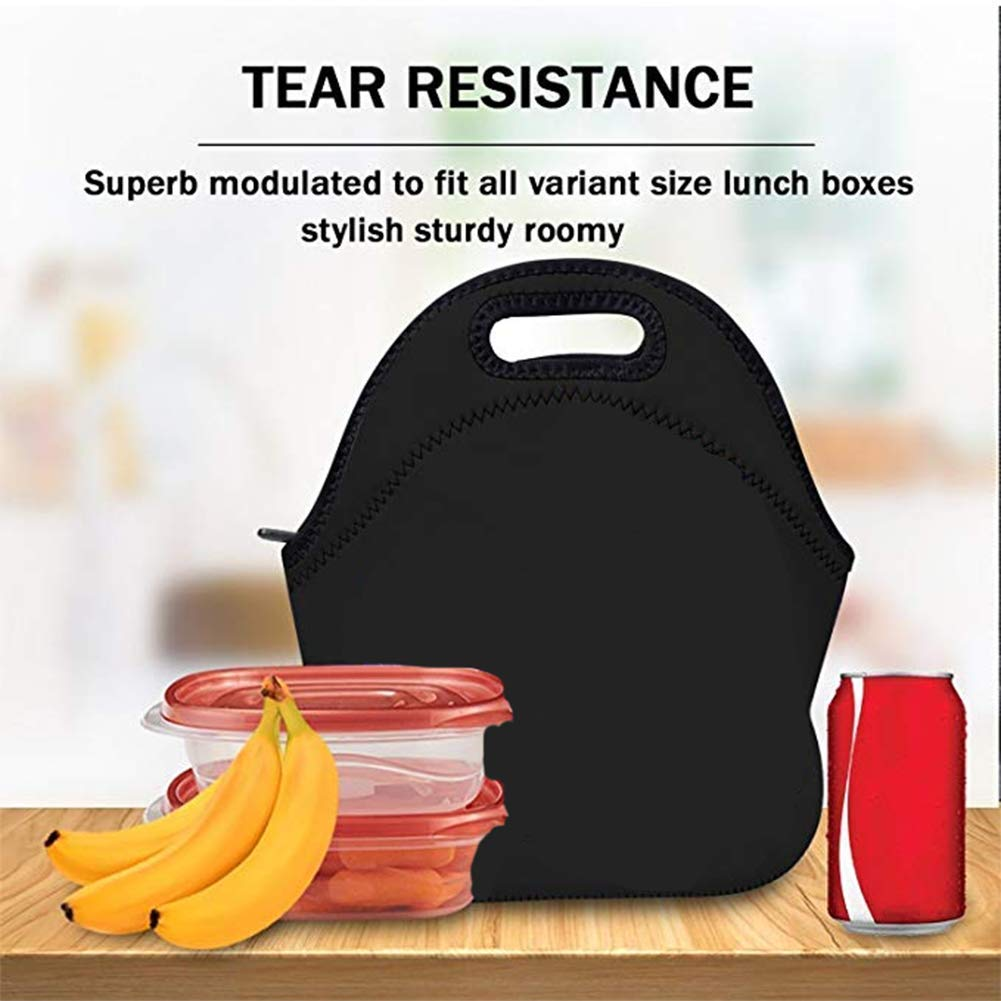 Gesey-R4T Lunch Bag With Shoulder Strap,Insulated Storage Bags Once-Upon-Time School//Office//Picnic Lunch Box for Kids//Men//Women Tote Handbag