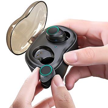 QWER Auriculares Inalámbricos Verdaderos TWS-X9 Auricular Bluetooth Direct Touch Mini Nuevo 5.0 Tapones para Los Oídos Deportes Inalámbricos Orejas: ...
