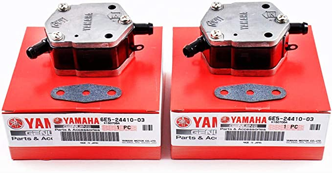 Yamaha 6G1-24432-00-00 Gasket Fuel Pump 2; 6G1244320000 Made by Yamaha