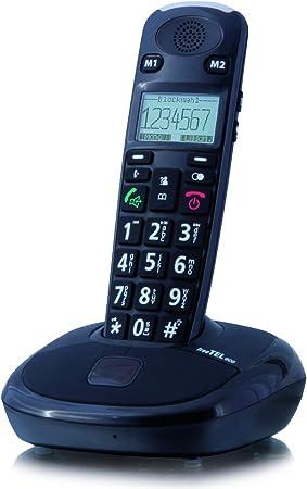 Humantechnik freetel Eco Teclas Grandes Teléfono Extra según sin contestador automático Negro: Amazon.es: Electrónica