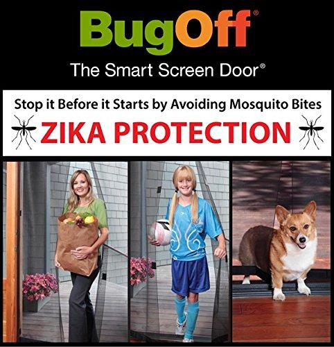 Screen door replacement alternative
