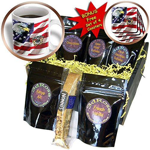 US Navy - US Navy Officer Crest - Coffee Gift Baskets - Coffee Gift Basket - Us 769