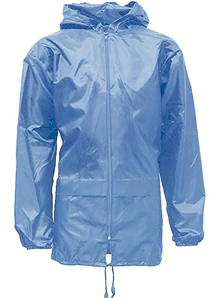 Adults Mens Womens Unisex Kagool Rain Jacket