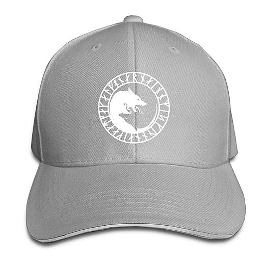 156592f4 Odin Thor Viking Norse Wolf Women's Baseball Hat Retro Sun Visor Snapback  Hat
