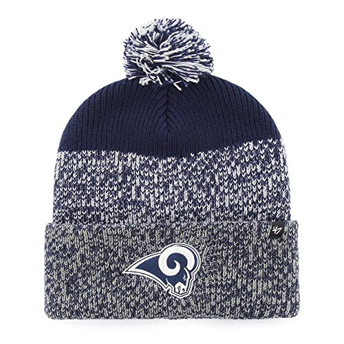 '47 Los Angeles Rams Beanie Static Cuff Knit Hat by '47