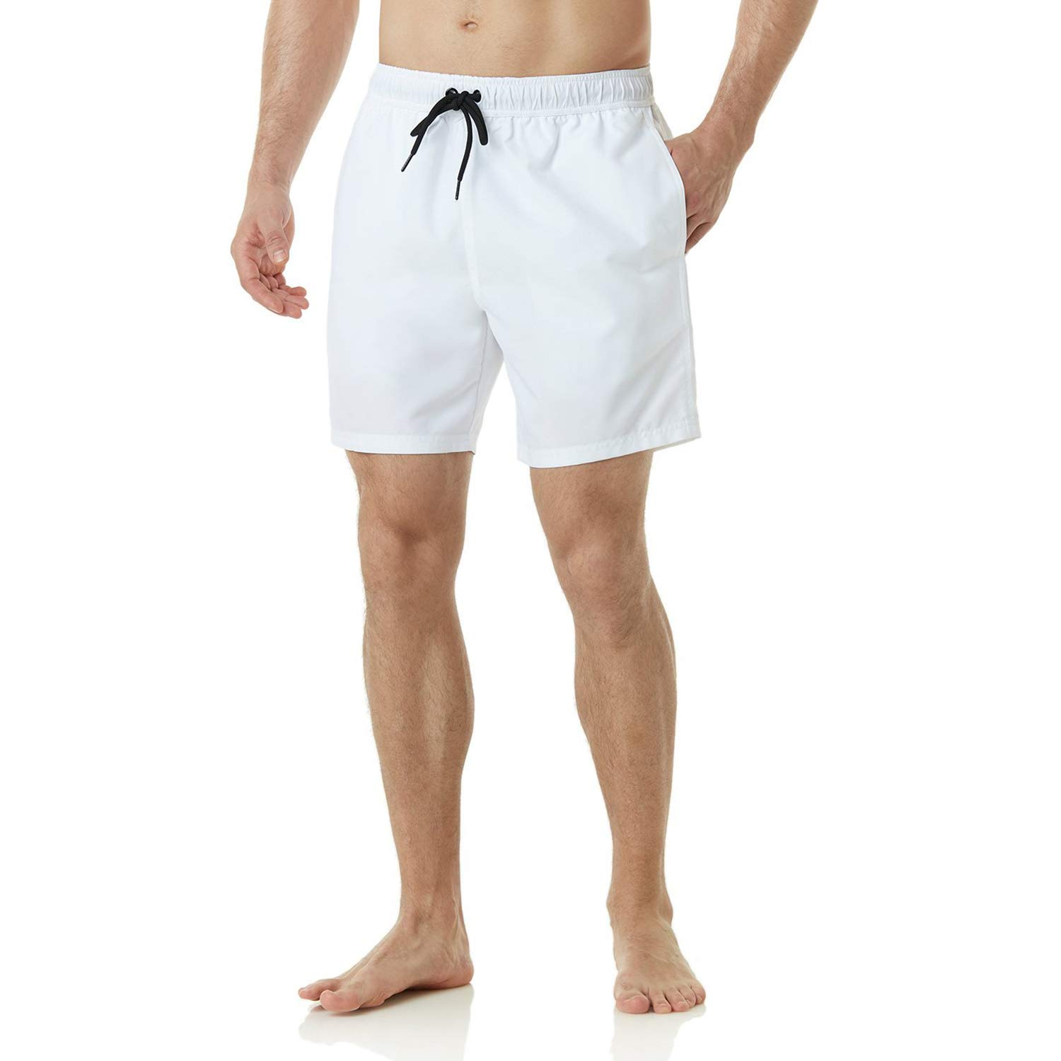 AMRANDOM Boys Board Shorts Cute Sheep Quick Dry Swim Surf Trunks