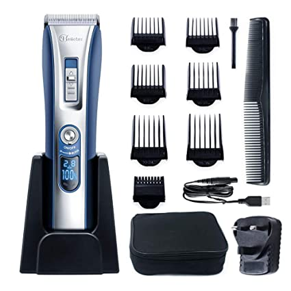Hatteker Professional Hair Clipper Hair Trimmer Cordless Clippers
