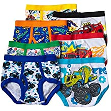Blaze and the Monster Machines Toddler Boys 7 Pack Underwear Briefs