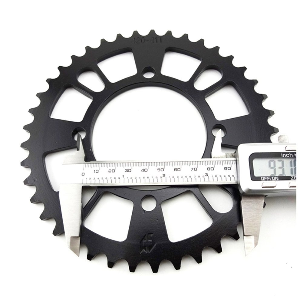 TC-Motor 420 76mm 41 Tooth Rear Chain Sprocket For Chinese Pit Dirt Trail Bike Motorcycle Motocross 50cc-160cc