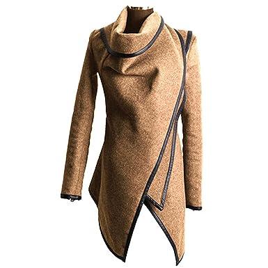 wholesale dealer 26cae 0e1c8 mantel damen wolle: Amazon.de: Bekleidung