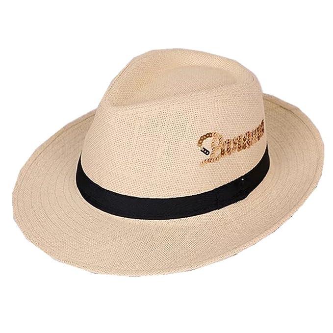 386f500b4607e Zerci Sombrero Panamá - para mujer Marrón Color 1 Taille unique  Amazon.es   Ropa y accesorios