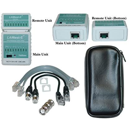 Amazon.com: LANtest-E Wire Mapping Cable Tester, Tests Cat5e, Cat6 on