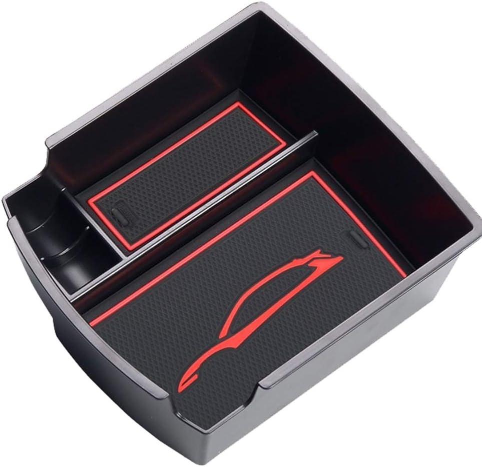Bomcomi Ersatz f/ür Hyundai Kona 2018 Center Console Sundries Organizer Pallet Armlehne Box Sundries Fach Legen