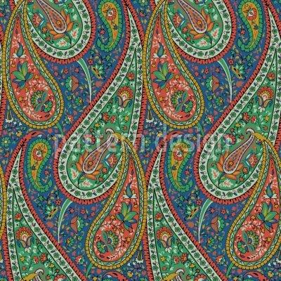 Filigree Paisley Blanket: Large by uneekee (Image #2)