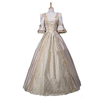 b7d2a3e102785 ノーブランド品 貴族 ドレス お姫様 カラードレス ロングドレス ステージ衣装 舞台衣装 王族服