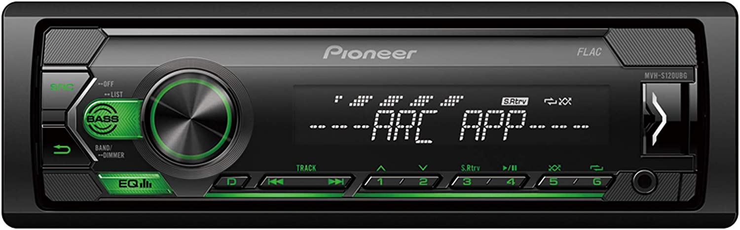 PIONEER MVH-S120UBG Single Din Car Radio